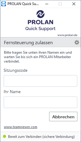 prolan-support-tool